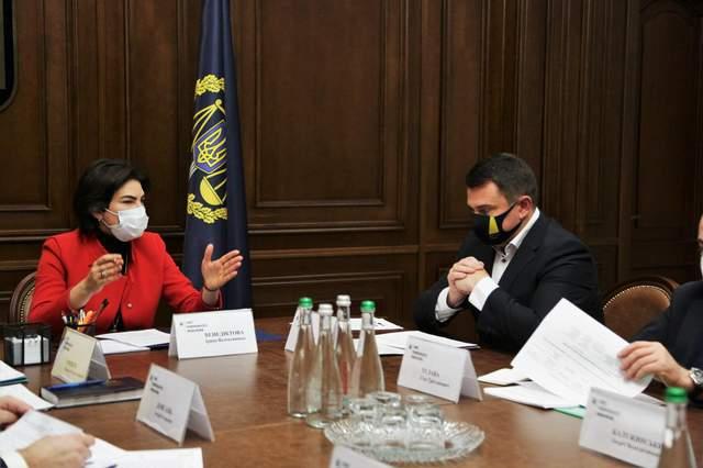 Венедіктова провела нараду з антикорупційними органами