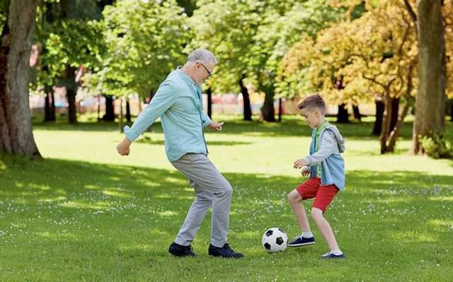Игры с детьми могут заменить тренировки в зале