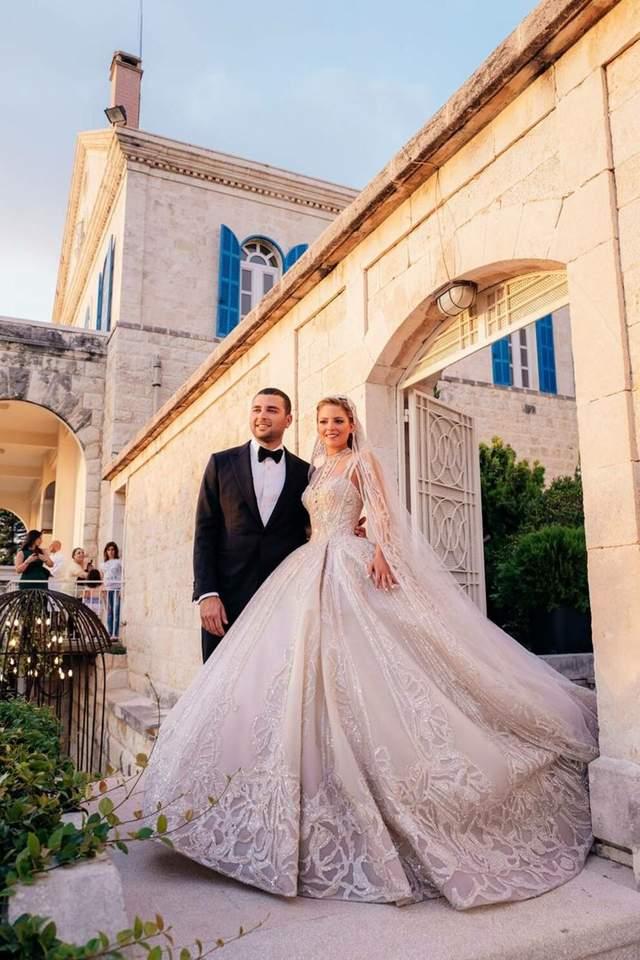 Весілля сина Елі Сааба та Крістіни Мурад