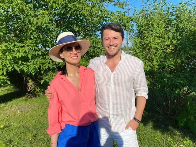 Сергій Притула з Машею Єфросиніною