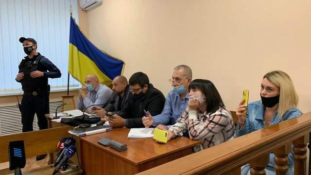 Засідання суду у справі активіста Сергія Стерненка