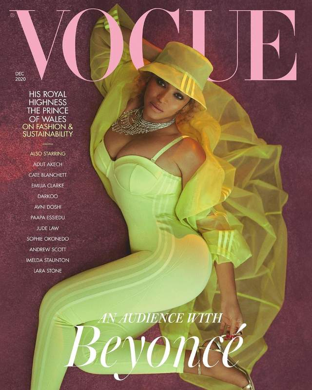Бейонсе на обкладинці Vogue