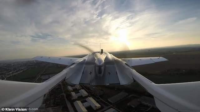 Літаюче авто AirCar