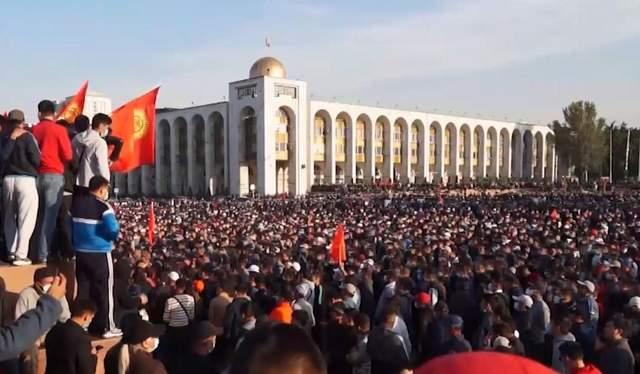 Киргизстан, революція