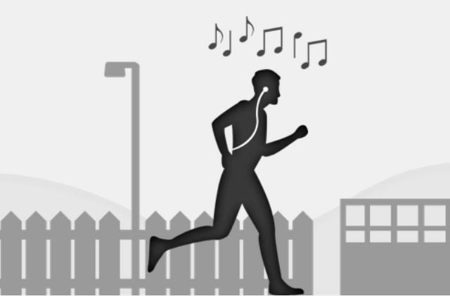 Сначала вы тренируетесь бегать и настраиваете свой ритм