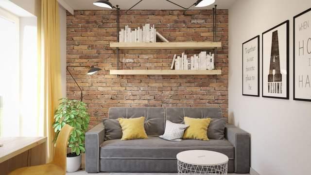 Цегляні стіни у стилі лофт