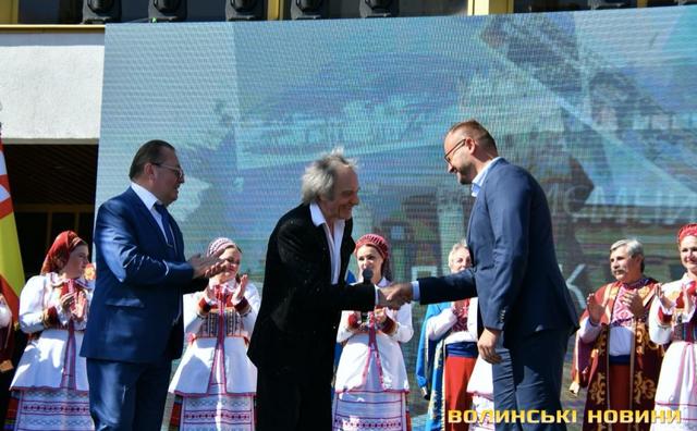 Василь Зінкевич та Ігор Поліщук - кандидат в мери Луцька