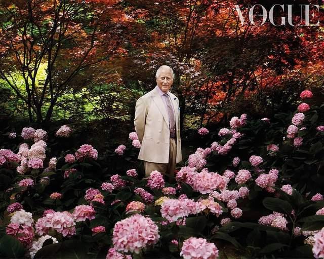 Принц Чарльз для британського Vogue