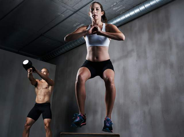 Під час тренування ви навантажуєте усі м'язи