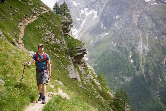 Существуют маршруты с большими перепадами высот