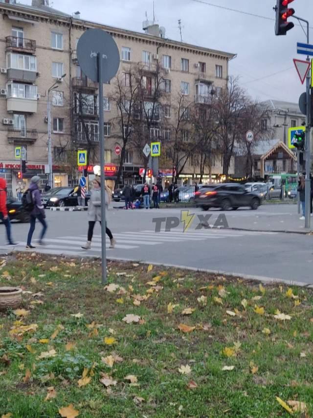 Аварія на проспекті Науки Харків