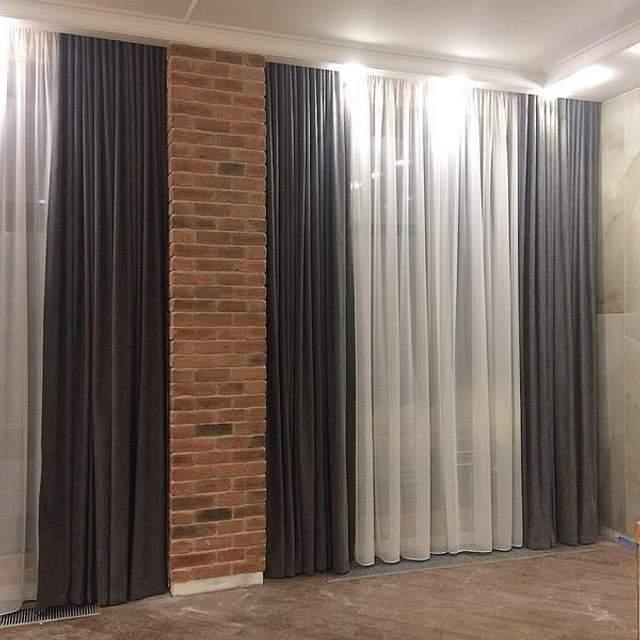 Нужно выбирать правильную длину штор