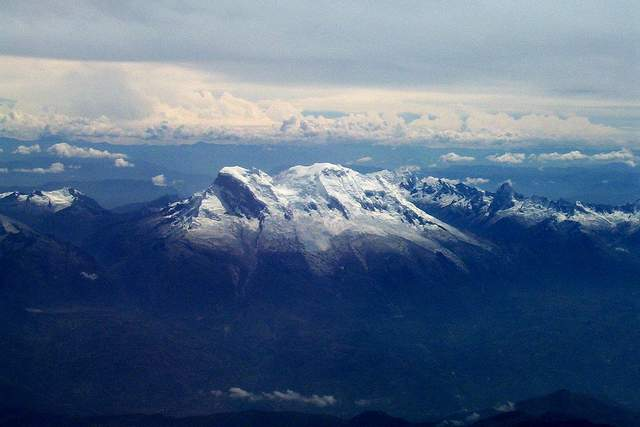 Гора Уаскаран у Перу