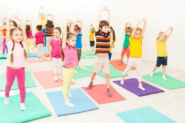 Детям нужны физические нагрузки