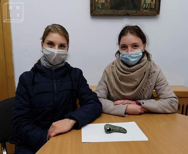 Ольга та Наталя Кобець / Фото НМІУ