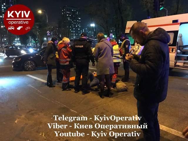 У Києві пілот мотоцикла збив 3 пішоходів