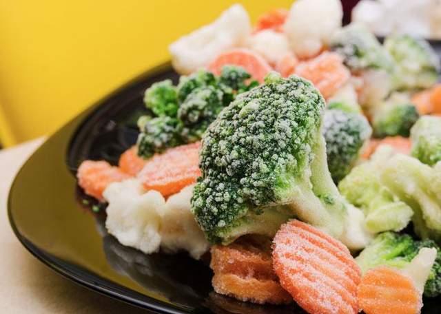 У заморожених овочах також є вітаміни