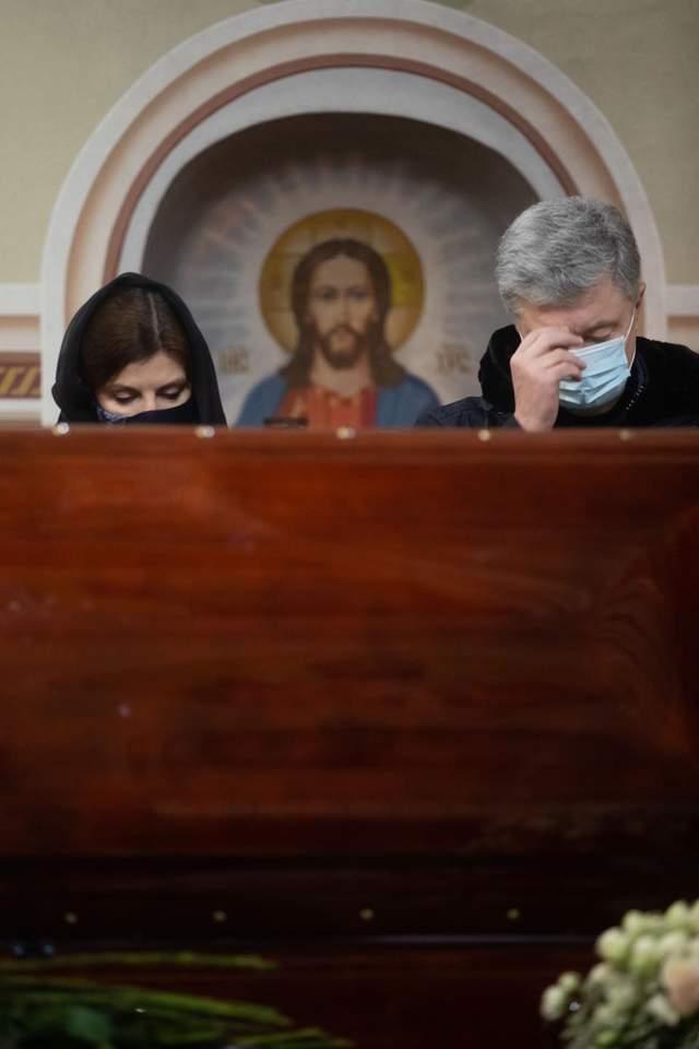 Похорон мами Марини Порошенко