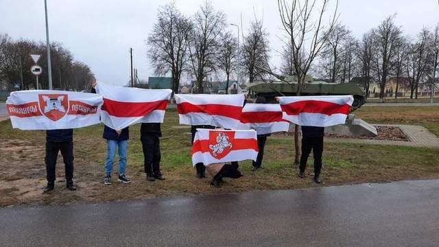 Білорусь, протести, ланцюг солідарності, Ляховичі
