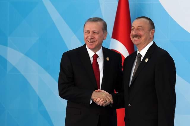 Ердоган та Алієв