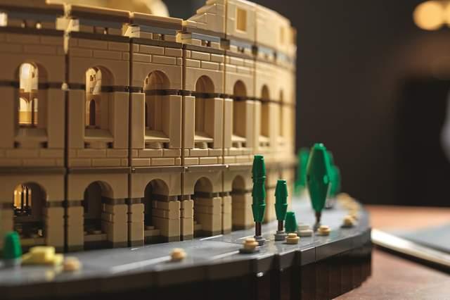Колізей Лего