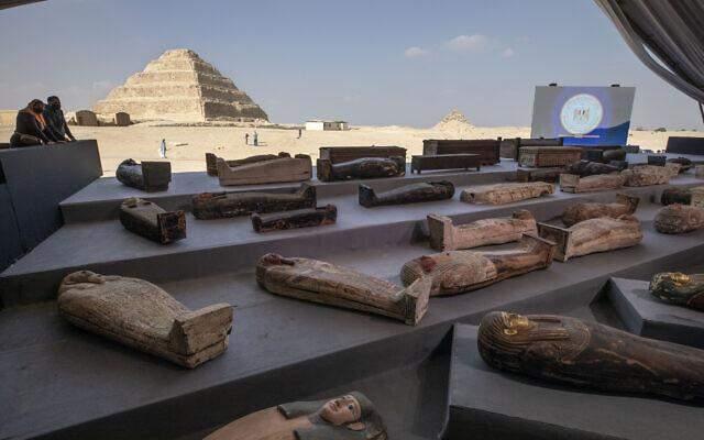 Саркофаги, Єгипет