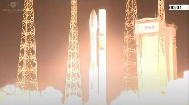Ракета Vega під час запуску