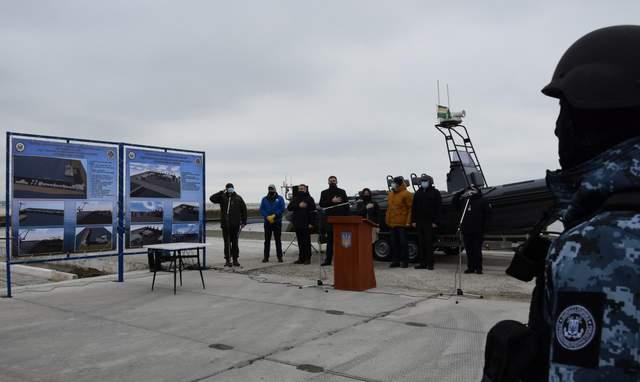 У Маріуполі презентували будівництво військового містечка для морської охорони