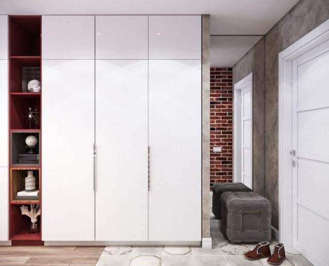 Высокие шкафы увеличивают пространство для хранения