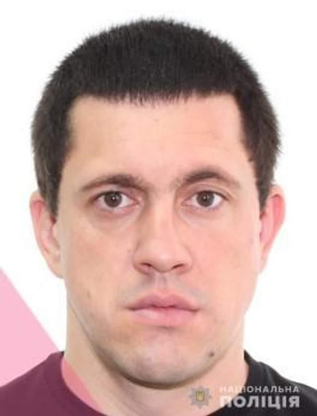 Кальченко Сергій – розшукується поліцією / Фото Нацполіції