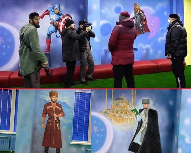 У Чечні оперативно знищили героїв коміксів після зауваження Кадирова
