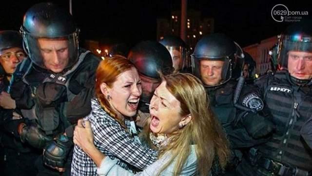Фото штурм Майдану Київ 2013 рік 30 листопада