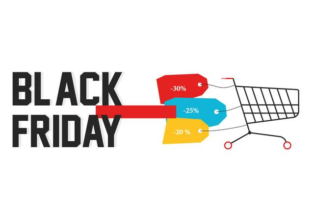 Майже кожен магазин робить знижки на товари в Чорну п'ятницю