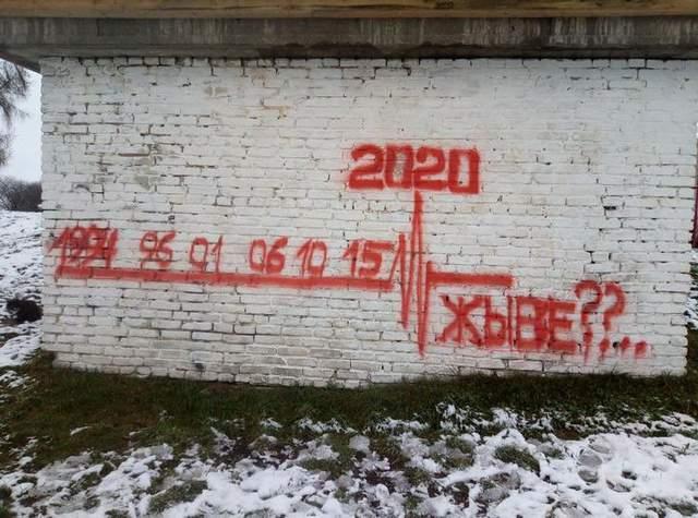 Глибоке, Білорусь, протести, неділя. 29 листопада