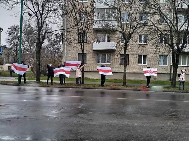 Брест, Білорусь, протести, неділя. 29 листопада