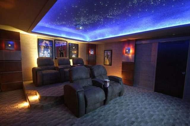 Домашний кинотеатр в бункере