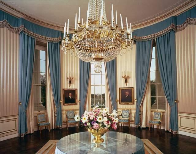 блакитна кімната білий дім