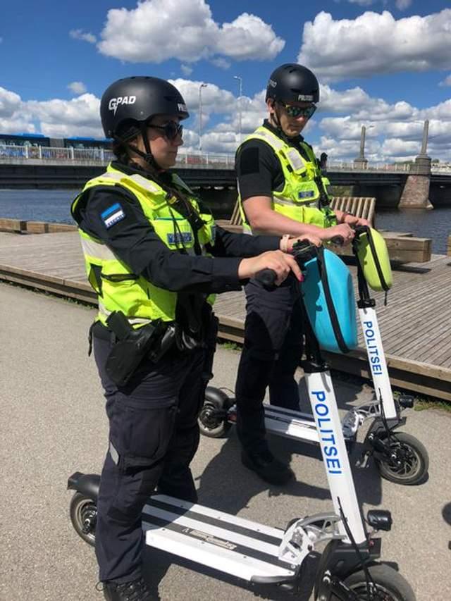 Поліція в Естонії / Фото delfi.ee