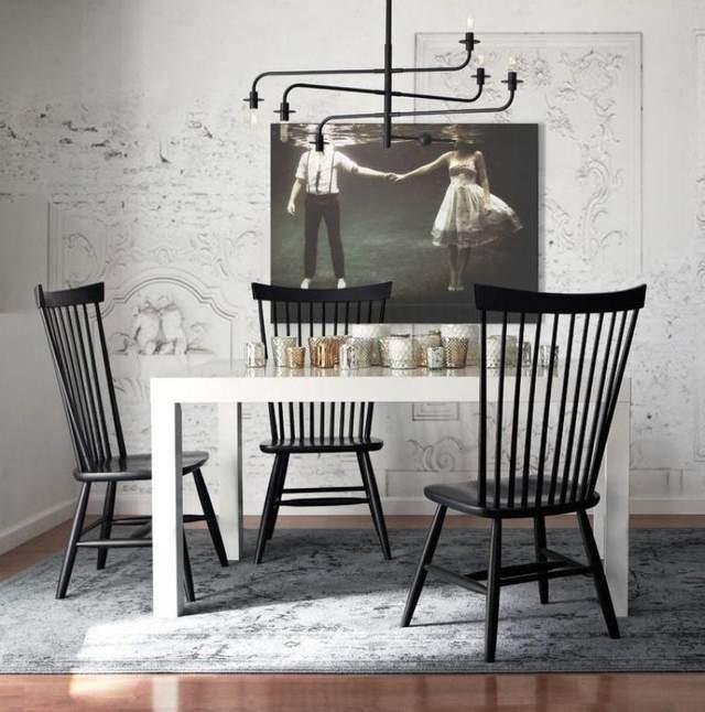 Существует много вариантов Виндзорских стульев