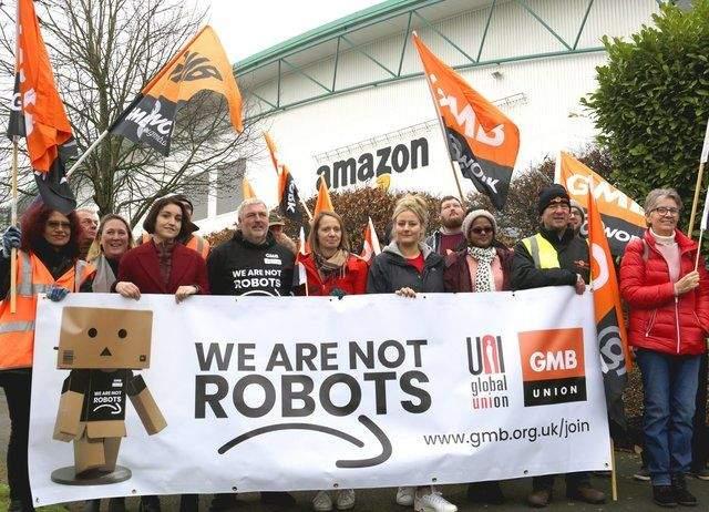 Протести в Amazon