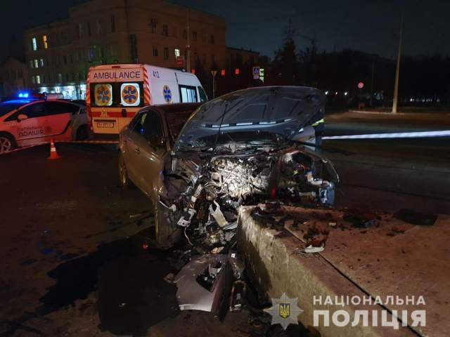 ДТП у Московському районі Харкова 27.11.2020