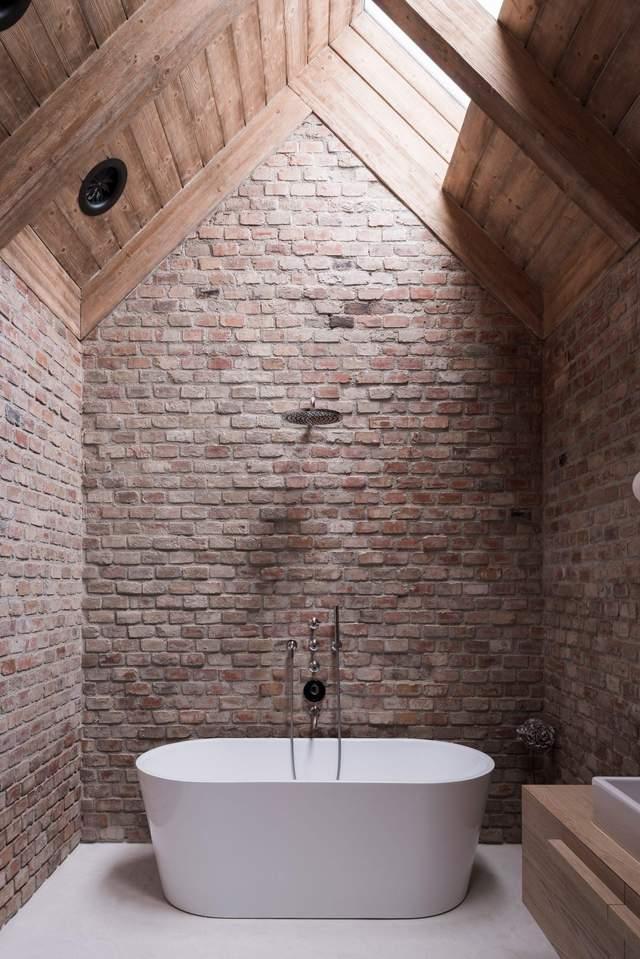 Ванная является одной из самых привлекательных комнат в доме