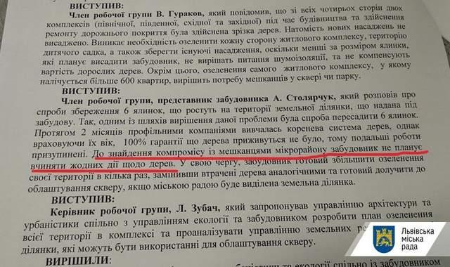 Львів вимагатиме у компаії Avalon облаштувати сквер у місті