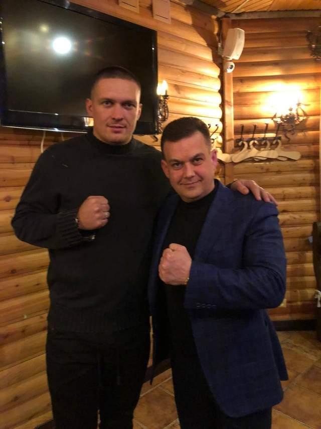 Костянтин Павлов і Усик
