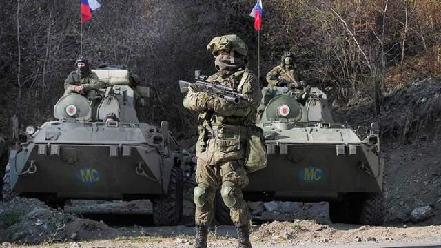 Російські військові прибули у Нагірний Карабах