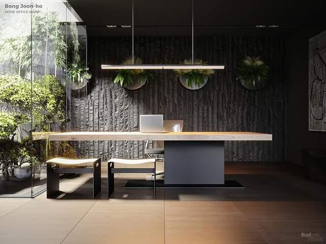 Офіс у стилі По Джун Хо