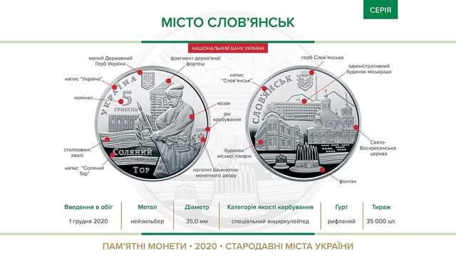 Нові пам'ятні монети