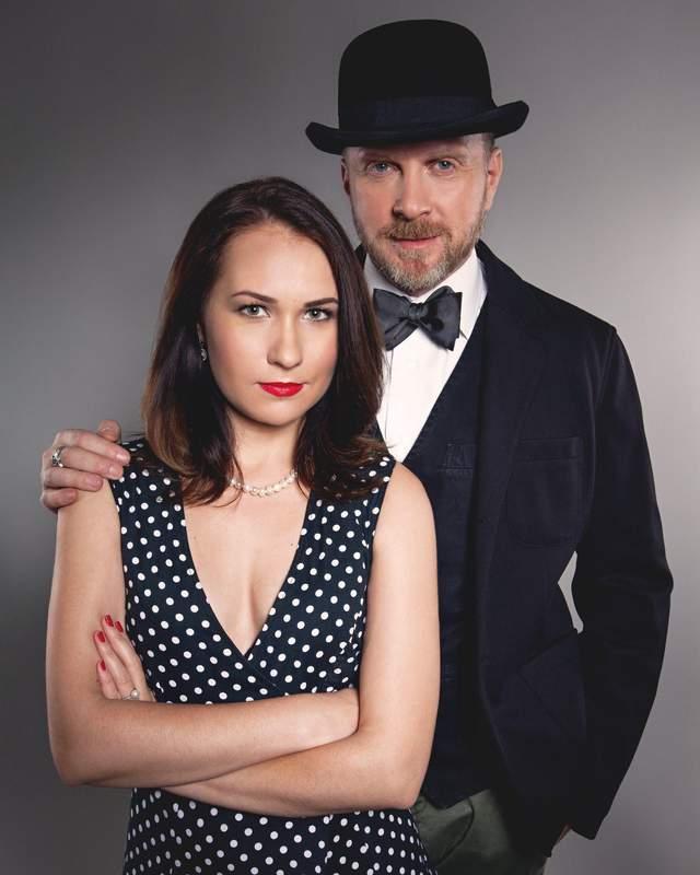 Антін Мухарський з дружиною