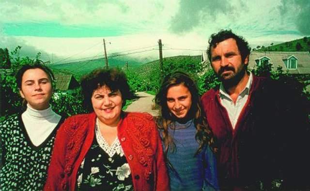 Джамала з батьками і сестрою