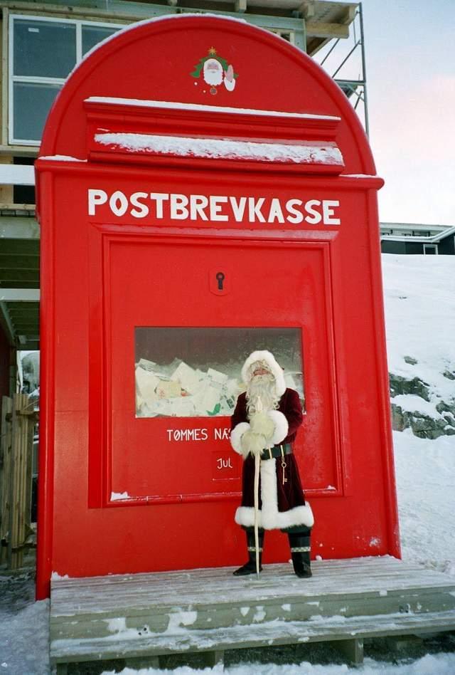 Поштова скринька Санти у Гренландії / Фото Pinterest